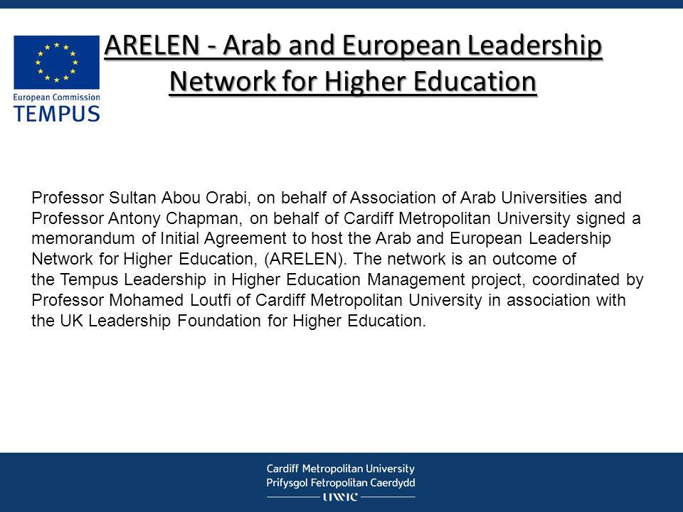 ARELEN - Arab and European Leadership Network for Higher Education