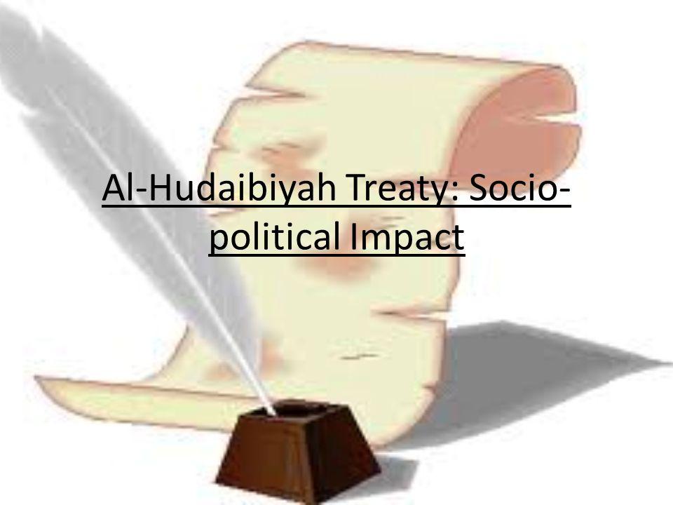 Al-Hudaibiyah Treaty: Socio-political Impact
