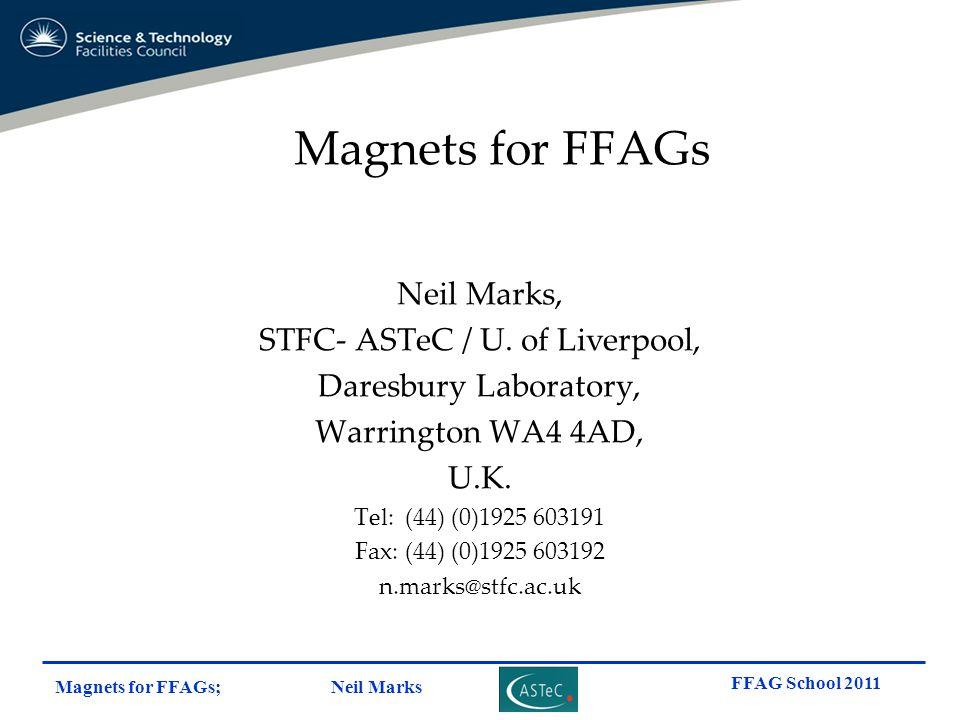 STFC- ASTeC / U. of Liverpool,