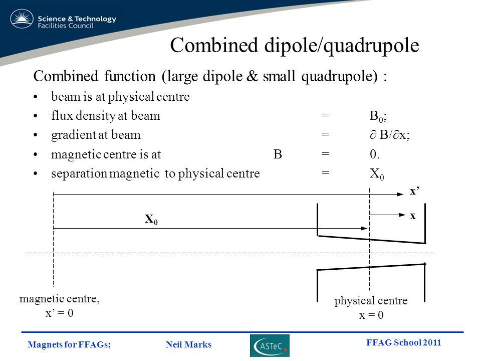 Combined dipole/quadrupole