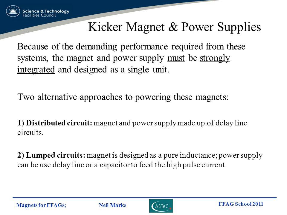 Kicker Magnet & Power Supplies