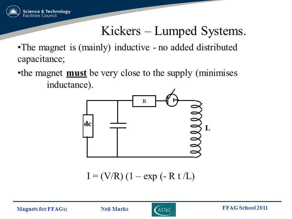 Kickers – Lumped Systems.
