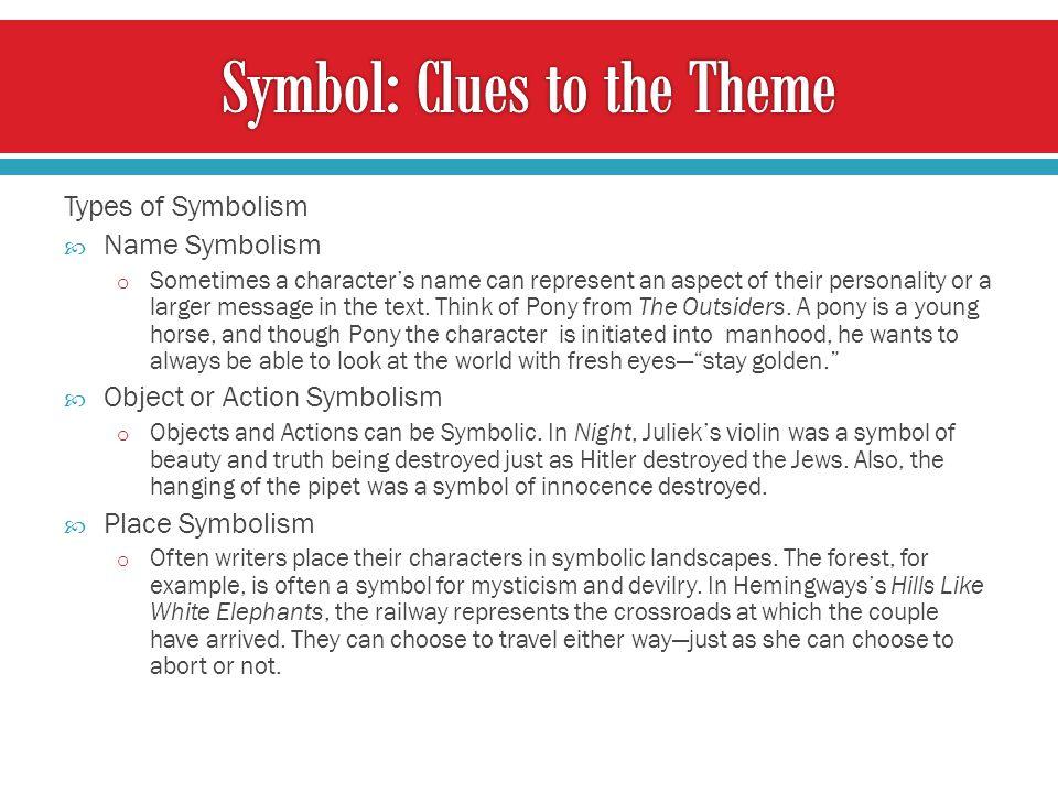Symbol: Clues to the Theme