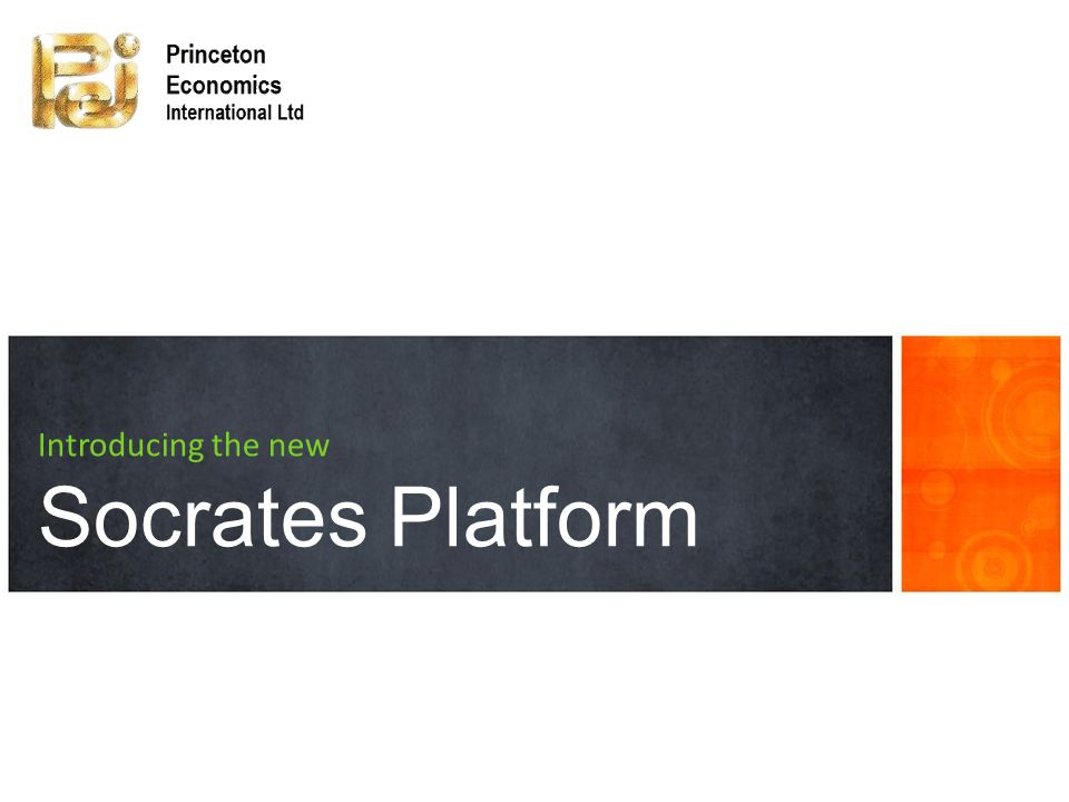 Introducing the new Socrates Platform
