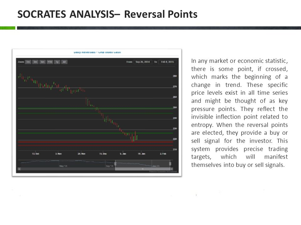 SOCRATES ANALYSIS– Reversal Points