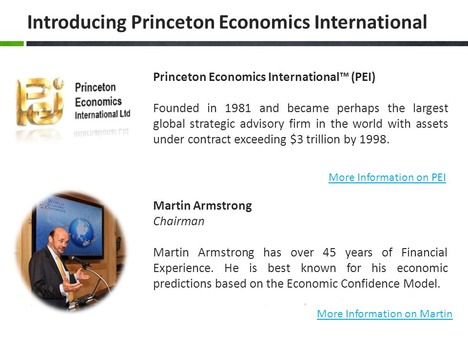 Introducing Princeton Economics International