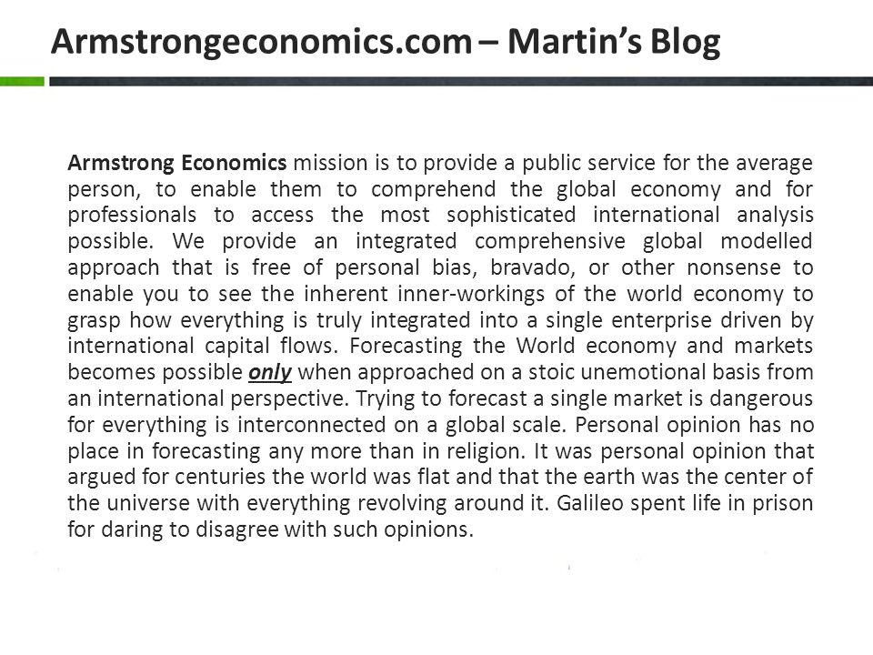 Armstrongeconomics.com – Martin's Blog