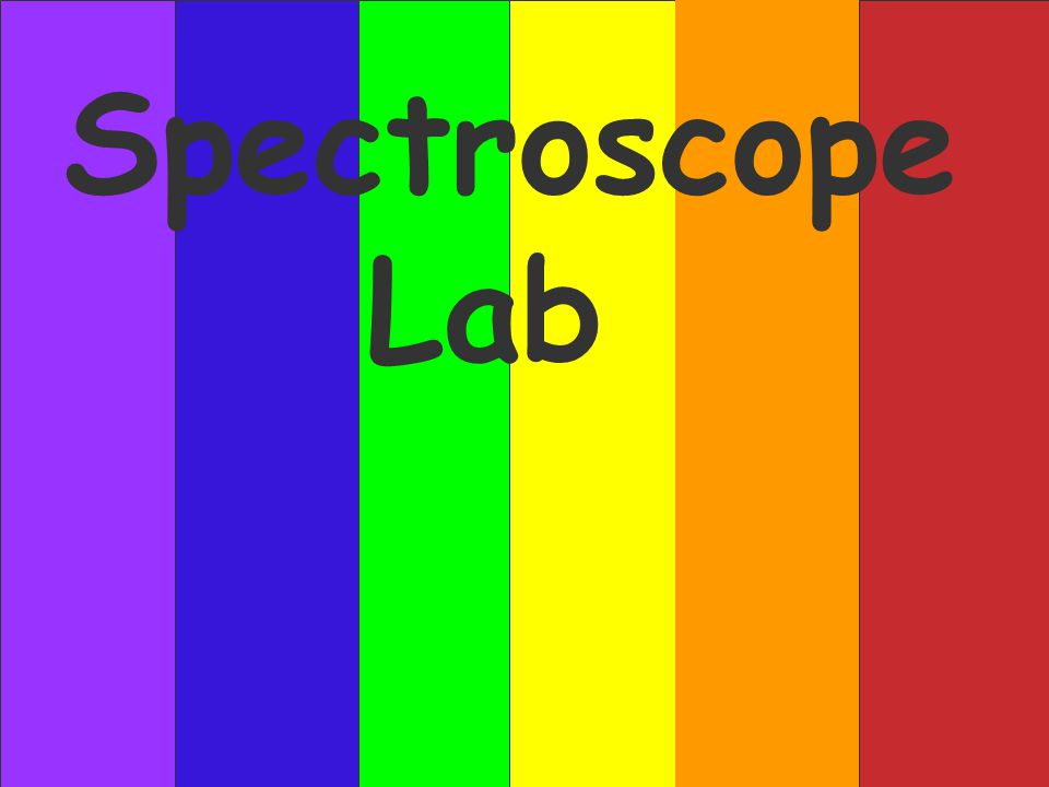 Spectroscope Lab