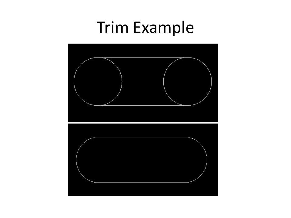 Trim Example