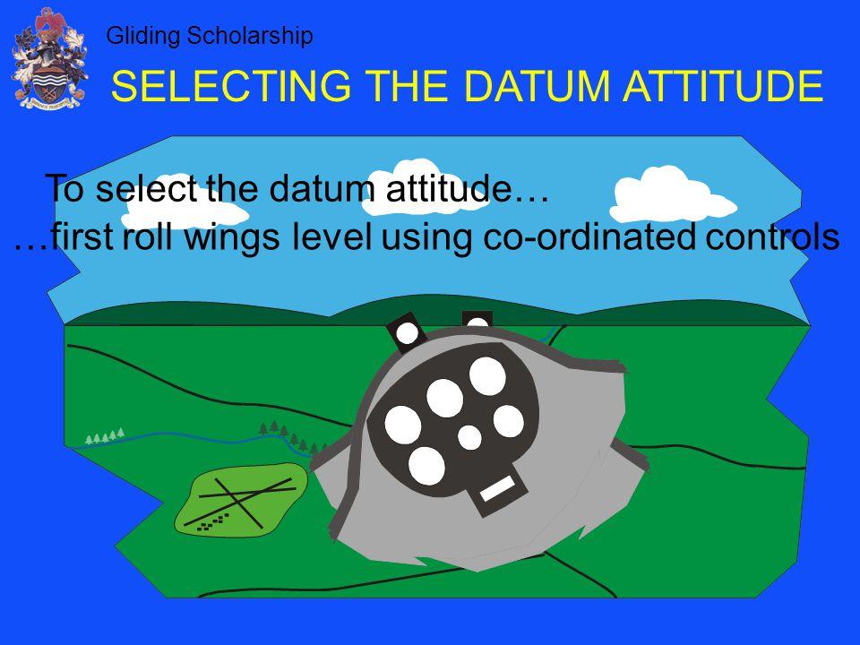 SELECTING THE DATUM ATTITUDE