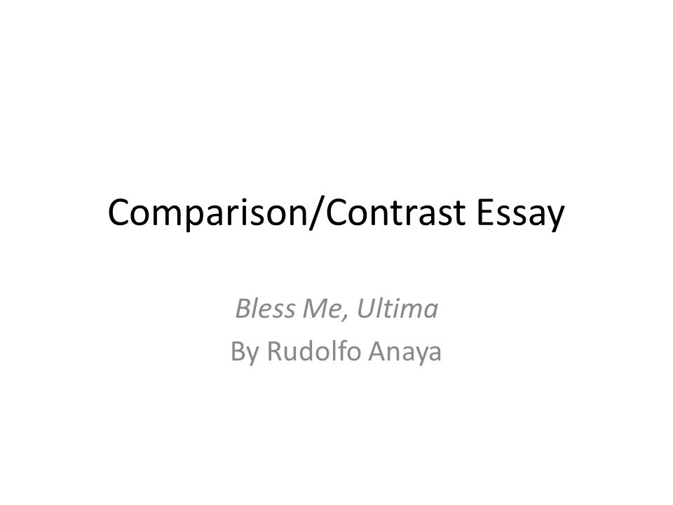 Good English Essays Examples Comparisoncontrast Essay How To Write An Application Essay For High School also E Business Essay Comparisoncontrast Essay  Ppt Video Online Download History Of English Essay