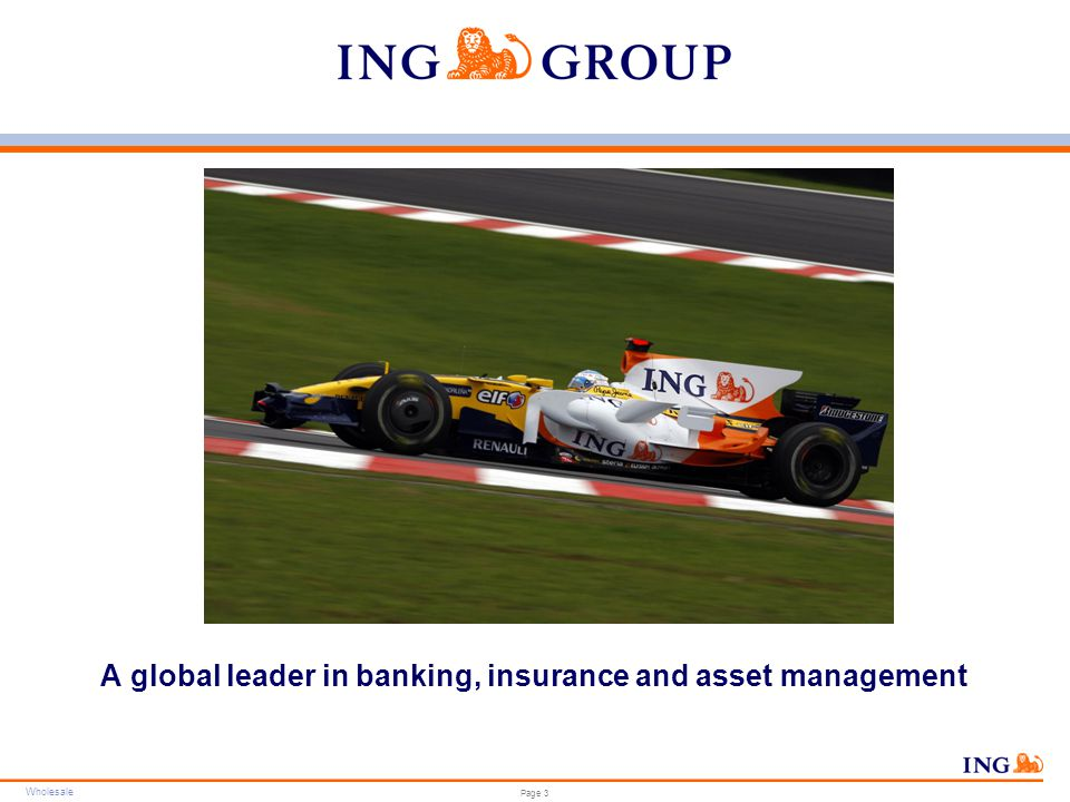 ING Group – Chronology of Formation