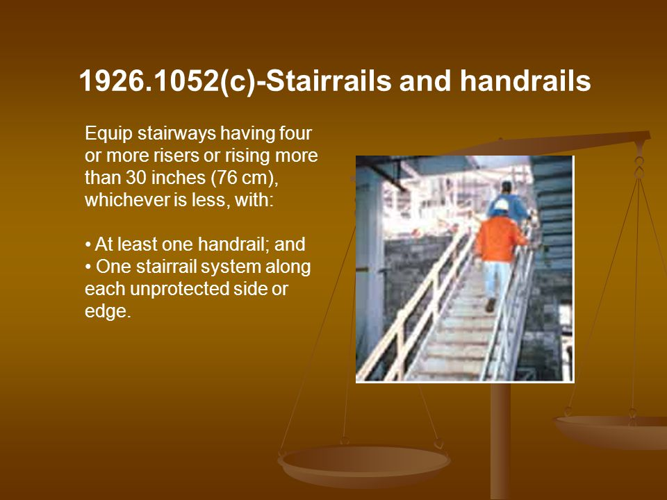 1926.1052(c)-Stairrails and handrails