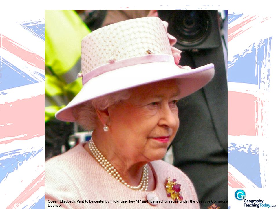 Queen Elizabeth, Visit to Leicester by Flickr user kev747 and licensed for reuse under the Creative Commons