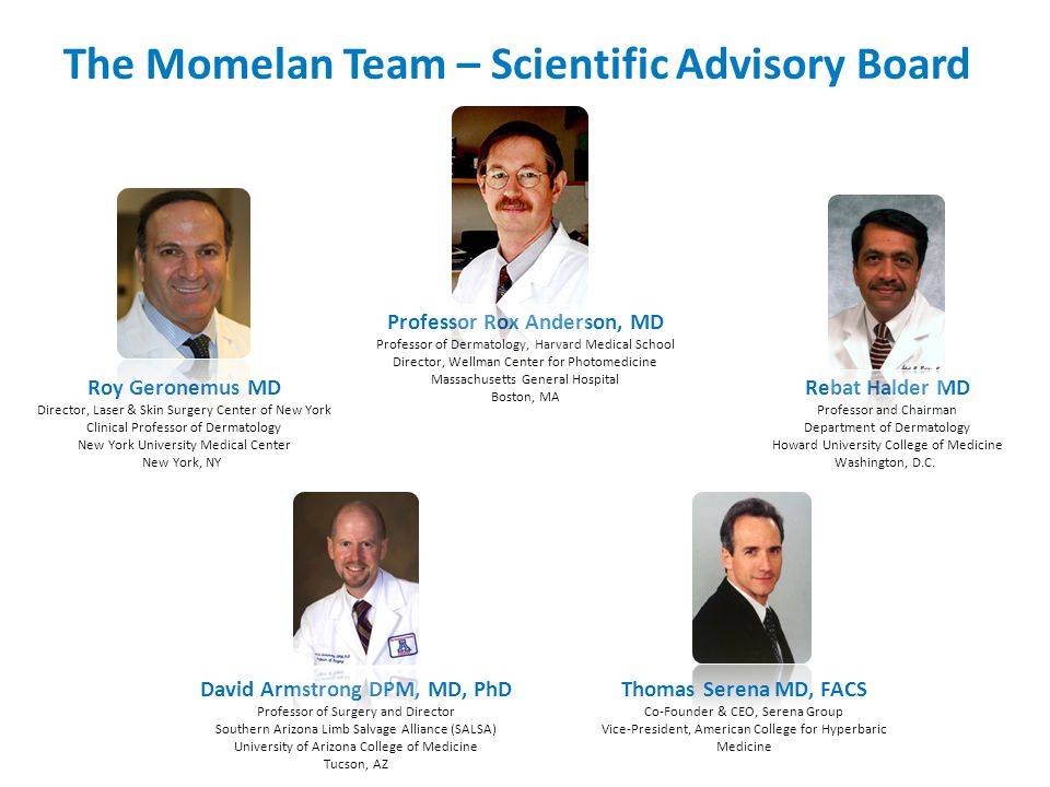 The Momelan Team – Scientific Advisory Board