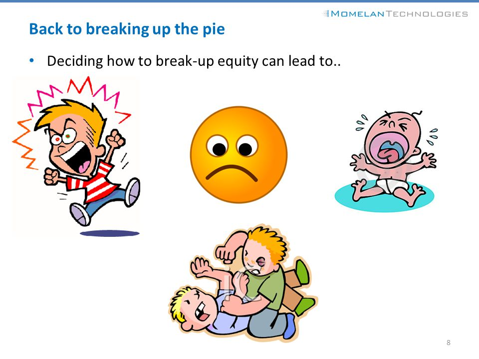 Back to breaking up the pie