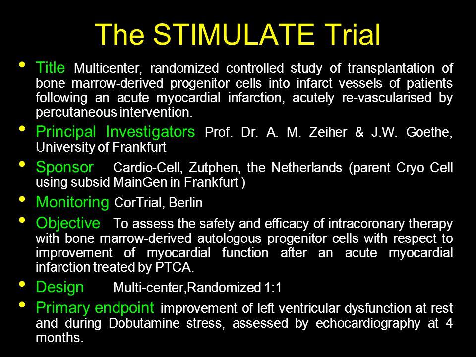 The STIMULATE Trial