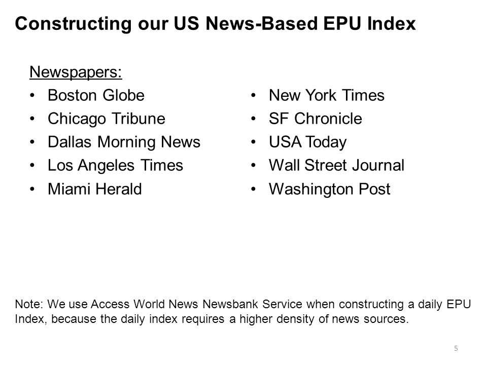 Constructing our US News-Based EPU Index