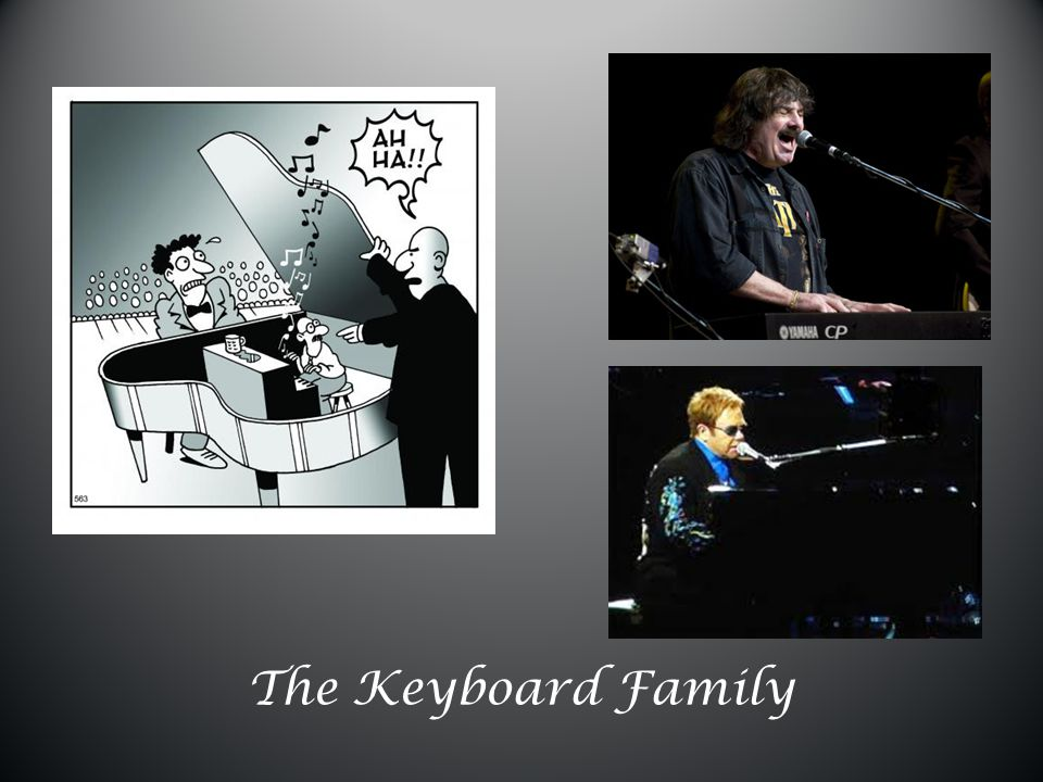 The Keyboard Family