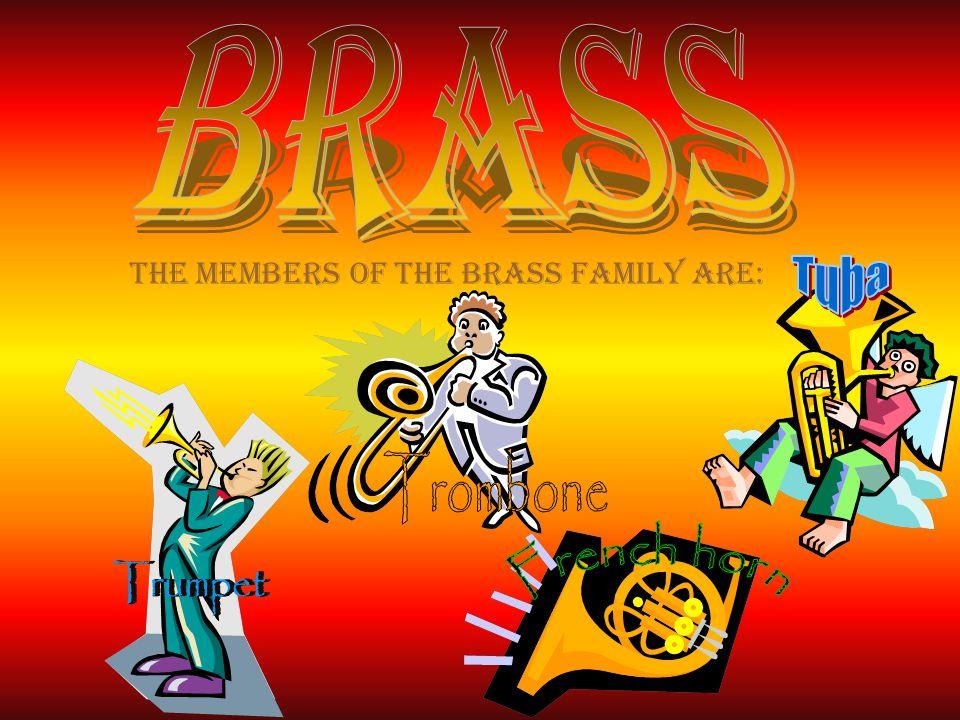 Brass Tuba Trombone Trumpet French horn