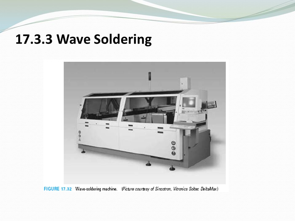 17.3.3 Wave Soldering