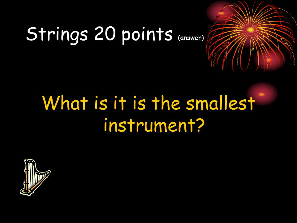 Strings 20 points (answer)