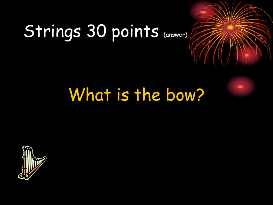 Strings 30 points (answer)