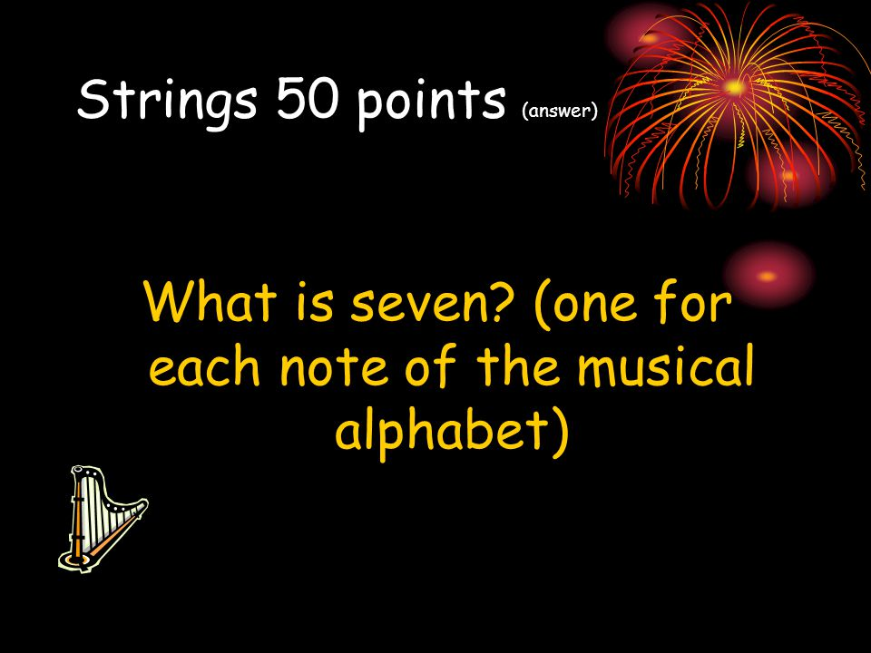 Strings 50 points (answer)
