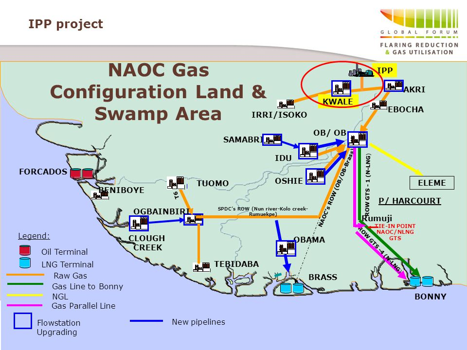 NAOC Gas Configuration Land & Swamp Area
