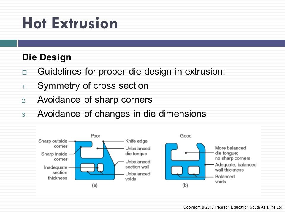 Hot Extrusion Die Design