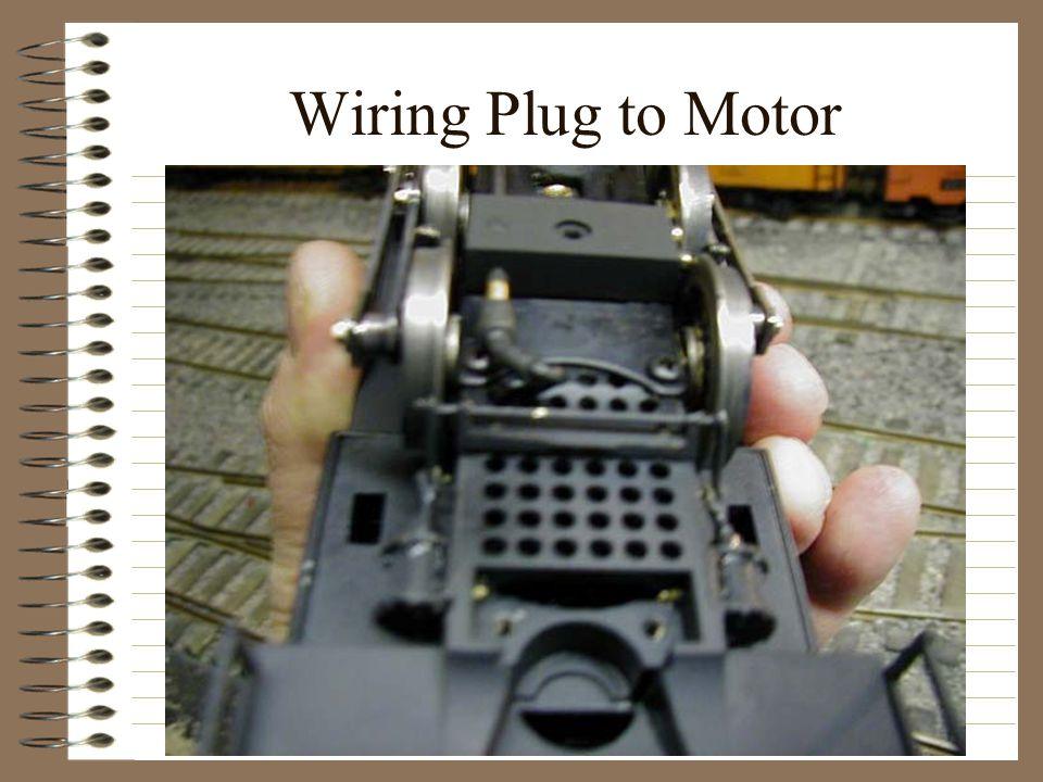 Wiring Plug to Motor