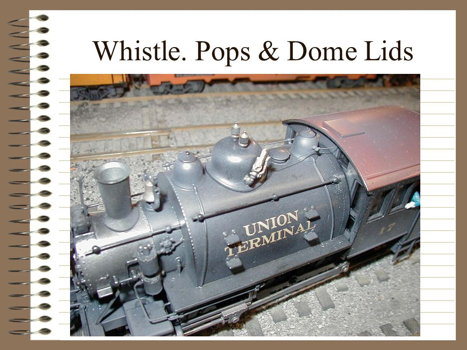 Whistle. Pops & Dome Lids