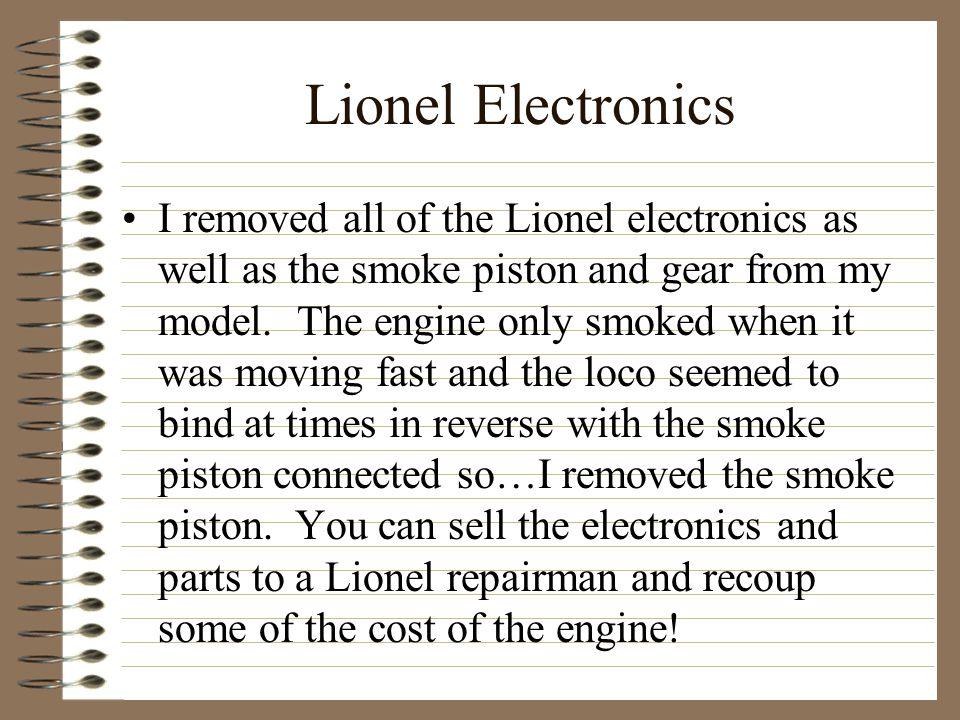 Lionel Electronics