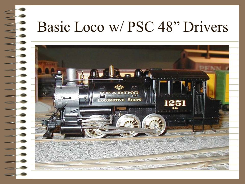 Basic Loco w/ PSC 48 Drivers