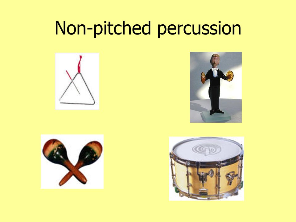 Non-pitched percussion