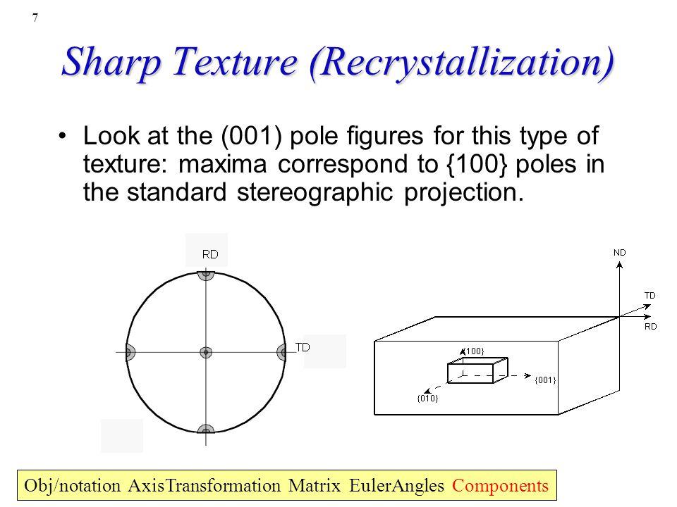 Sharp Texture (Recrystallization)