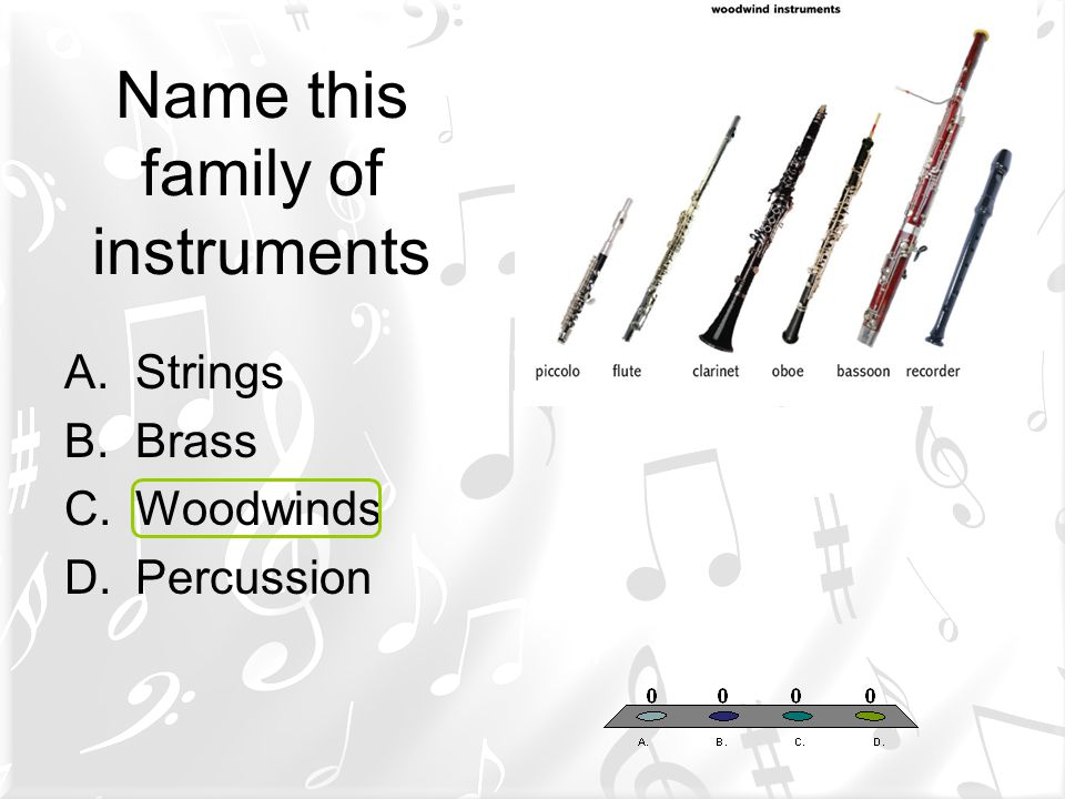 Name this family of instruments