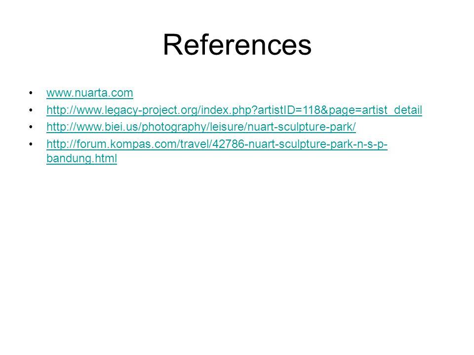 References www.nuarta.com