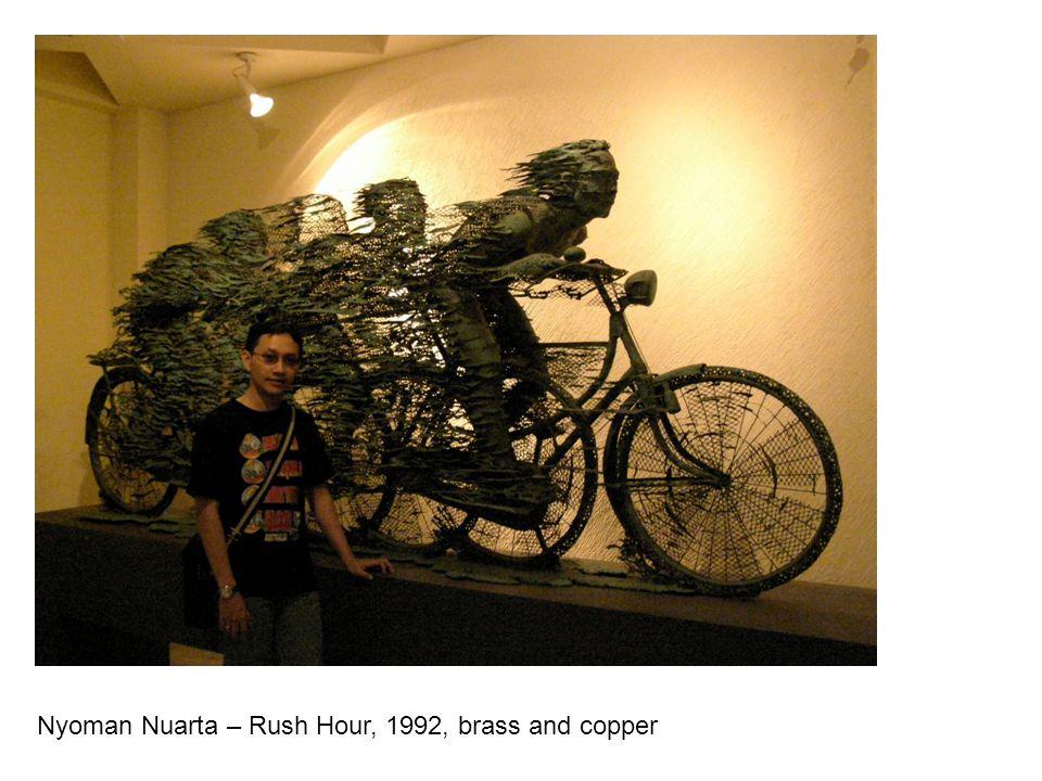 Nyoman Nuarta – Rush Hour, 1992, brass and copper