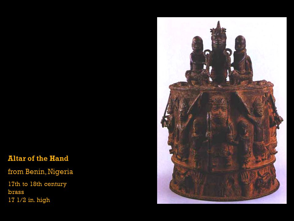 Altar of the Hand from Benin, Nigeria