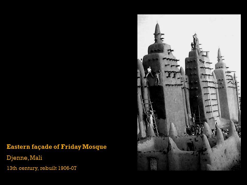 Eastern façade of Friday Mosque Djenne, Mali