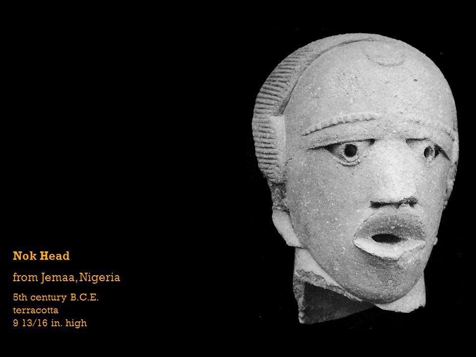 Nok Head from Jemaa, Nigeria