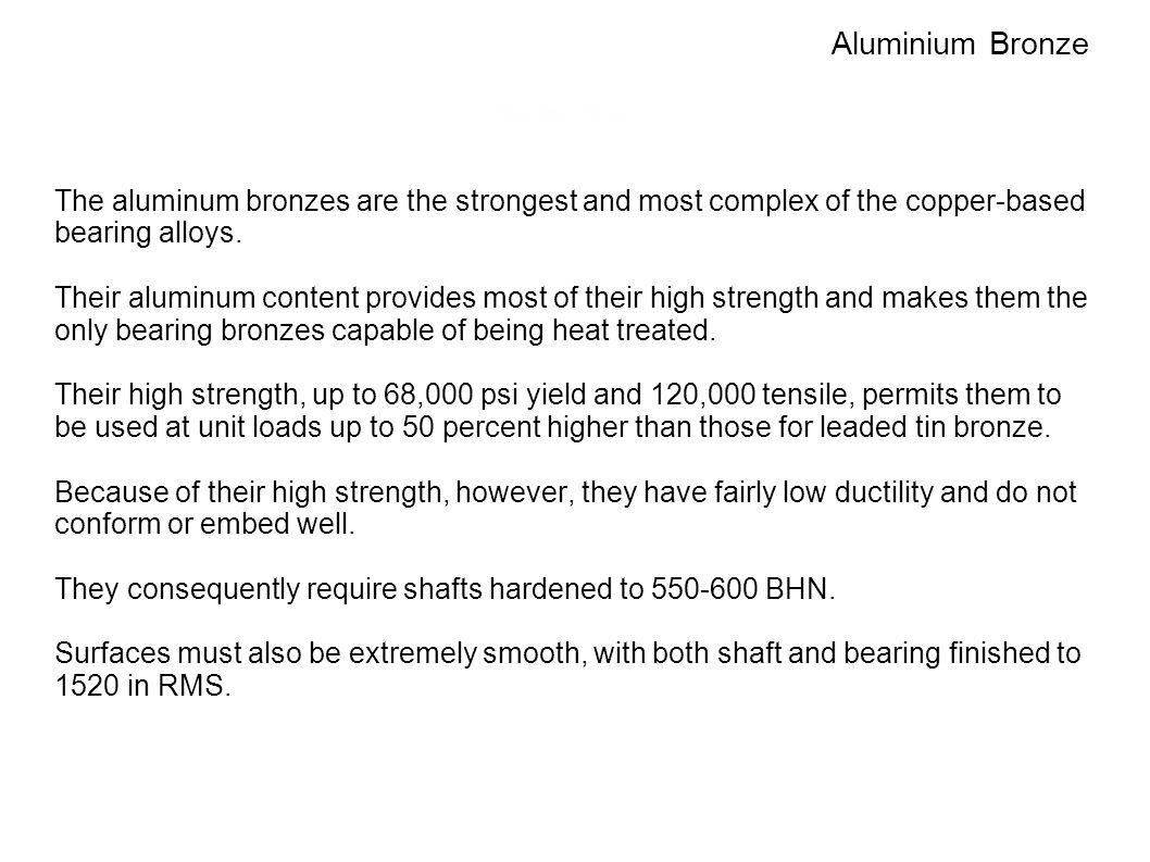 Aluminium Bronze Aluminum Bronzes