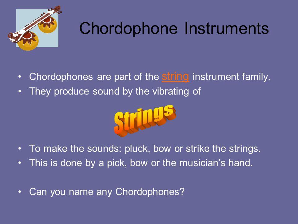 Chordophone Instruments