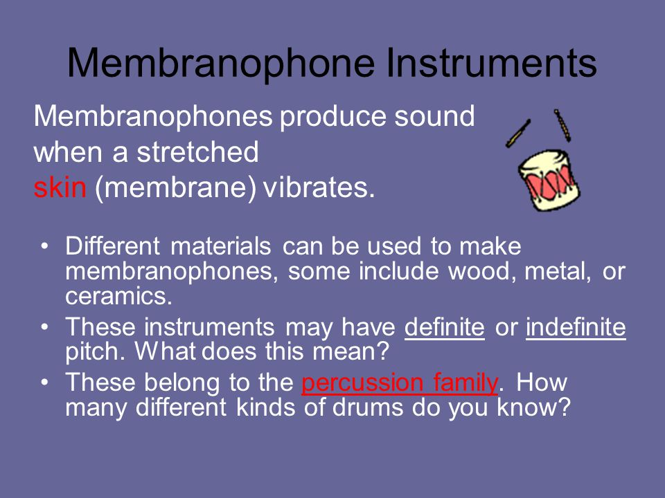 Membranophone Instruments