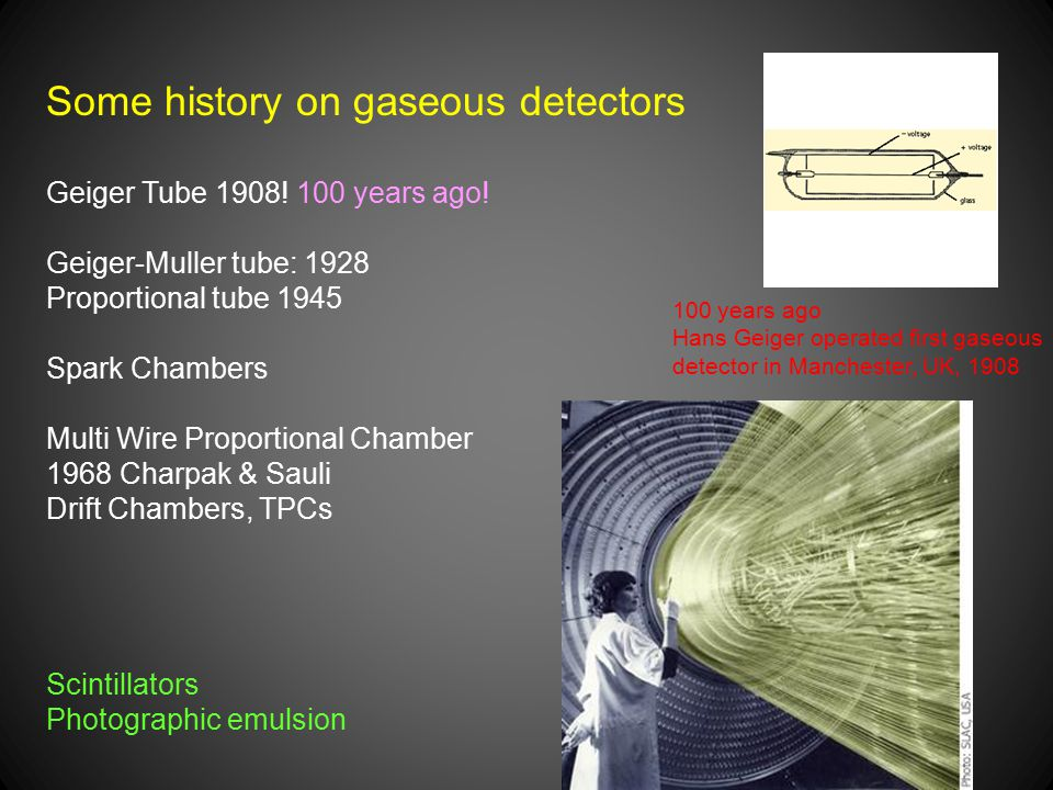 Some history on gaseous detectors