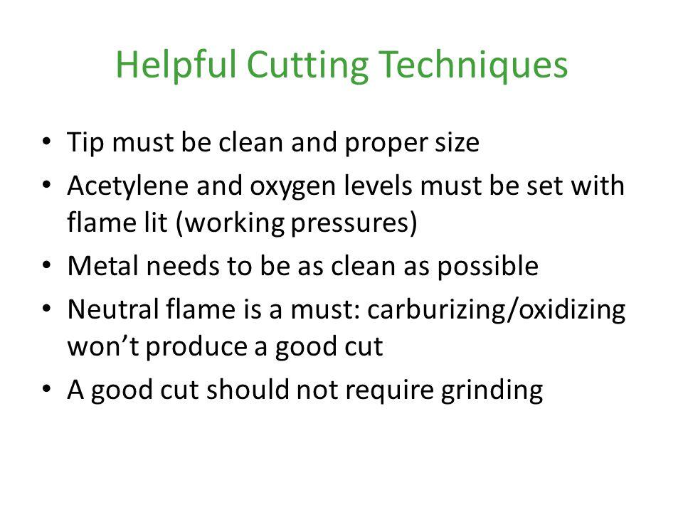 Helpful Cutting Techniques