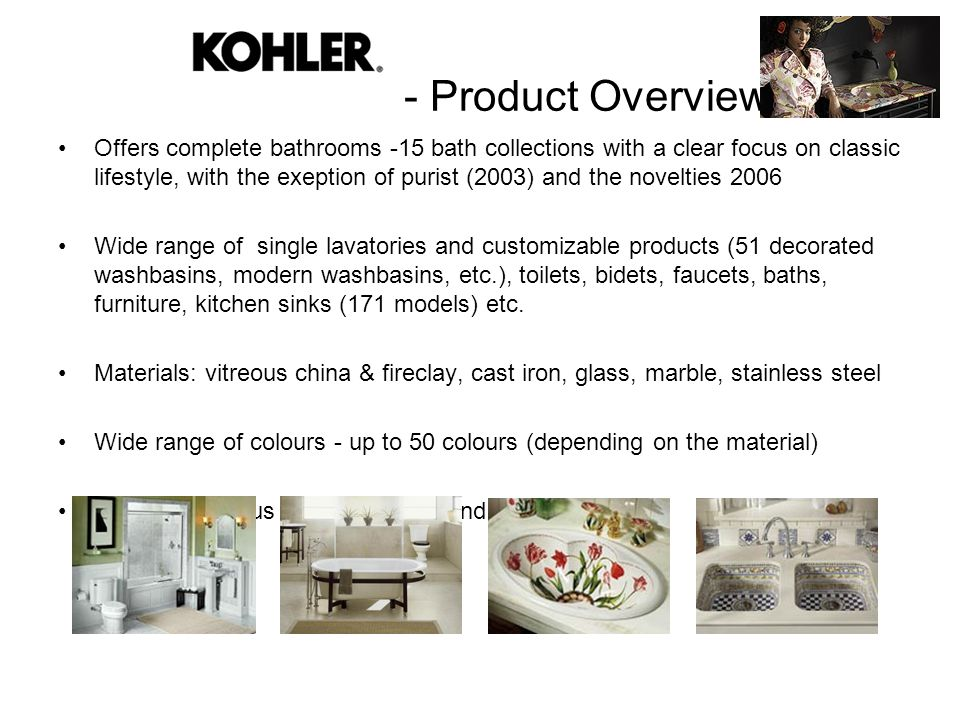 - Product Overview