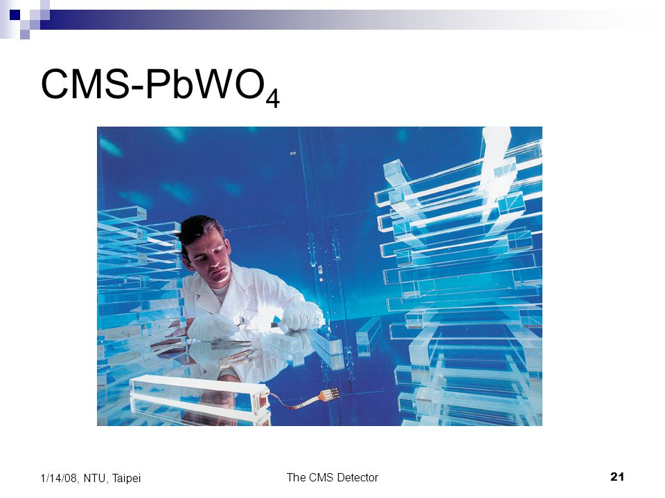CMS-PbWO4 1/14/08, NTU, Taipei The CMS Detector