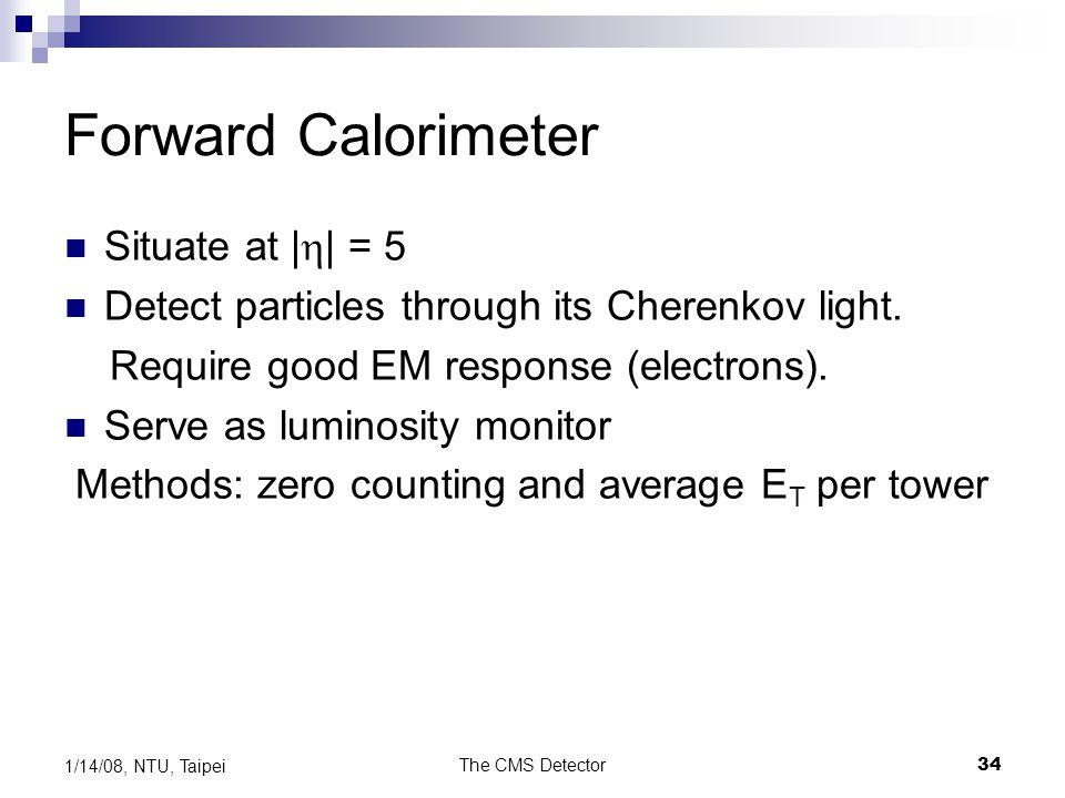 Forward Calorimeter Situate at |h| = 5